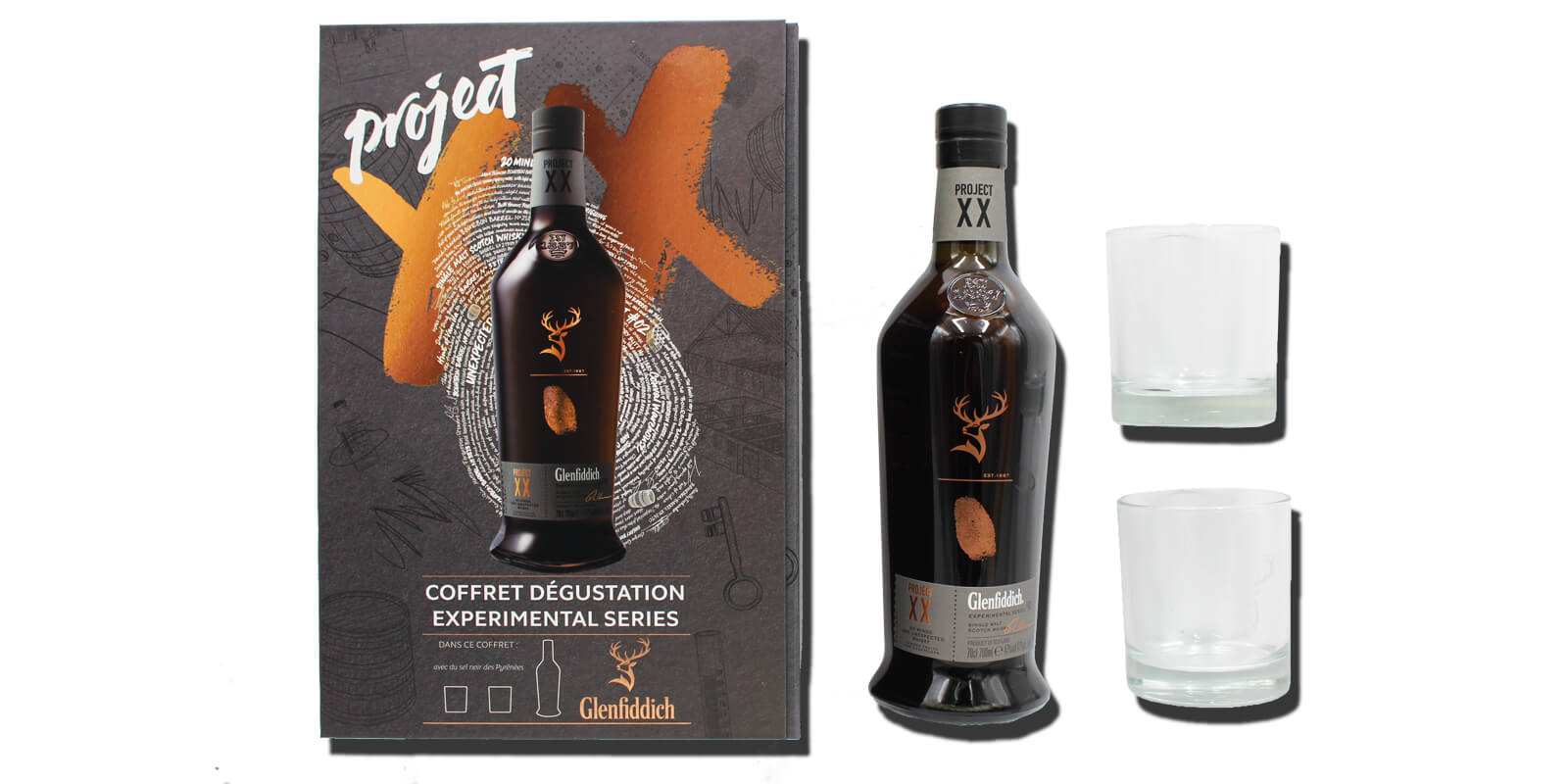 Le whisky XX : Le coffret Glenfiddich Project XX