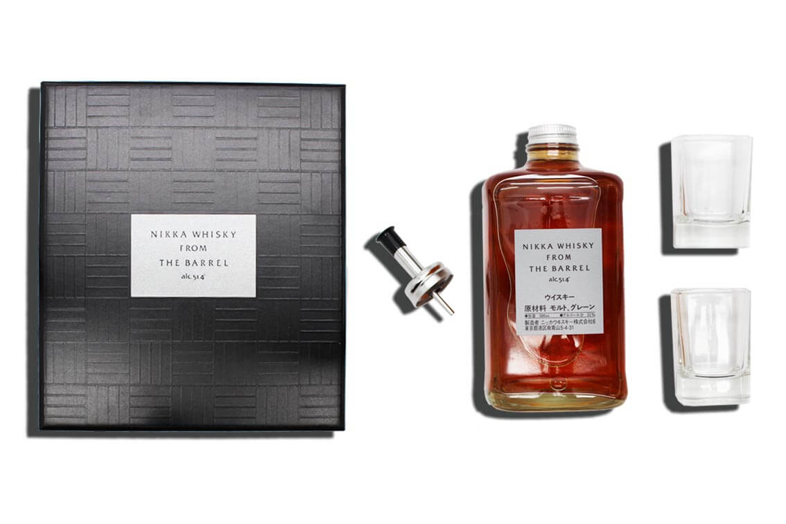 nikka barrel cadeau papadrinks